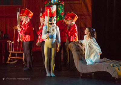Marie, Nutcracker Prince and his Soldiers