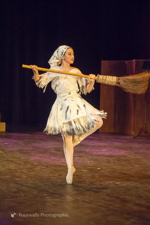 Cinderella dances