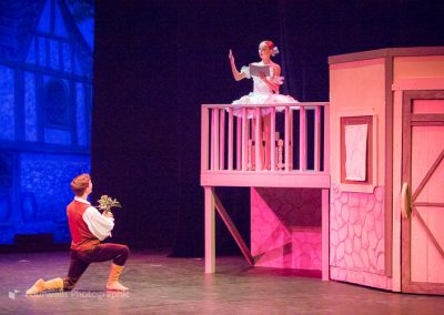 Franz sees Coppelia for the first tme
