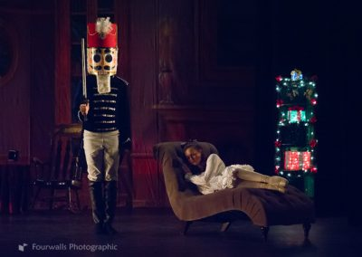 Nutcracker Prince arrives