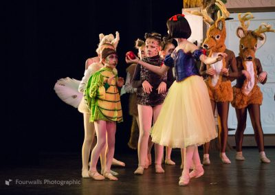Snow White and the Forest Creatures