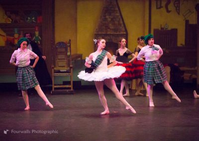 Swanhilda as Coppelia and the Scottish Dolls