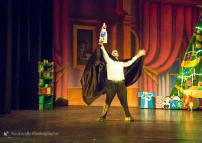 Herr Drosselmeyer presents the Nutcracker