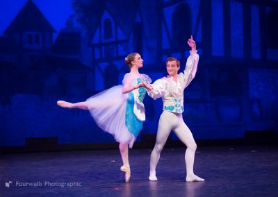 Swanhilda and Franz dance at their Wedding