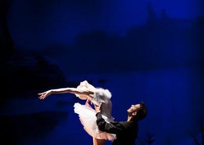 Odette and Siegfried